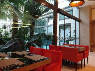 ホテルインディゴ バルセロナ プラザカタルーニャ ホテルの朝食(バルセロナ旅行2018 その12)
