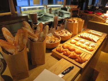 ハイアット オン ザ バンド上海 ホテル宿泊記その3 ラウンジの朝食(2015-16年末年始 上海特典旅行 その5)
