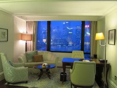 ウォルドーフ・アストリア上海オン・ザ・バンド ホテル宿泊記その5 (2015-16年末年始 上海特典旅行 その13)