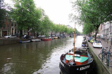 アムステルダムに滞在中