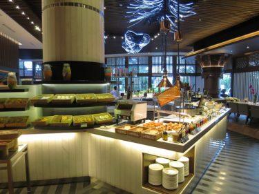 インターコンチネンタル ジャカルタ ミッドプラザ スタジオスイート宿泊記4 RASAレストランの朝食(JALでジャカルタSUITE旅行2016 その9)