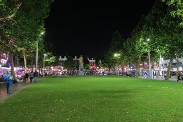 夜のオランダ アムステルダムを散歩(アムステルダム旅行2016 その12)