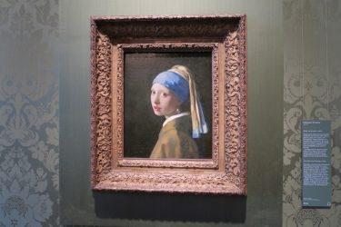 電車でデンハーグに移動して「真珠の耳飾りの少女」のあるマウリッツハイス美術館へ(アムステルダム旅行2016 その26)