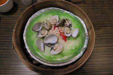 盛園絲瓜小籠湯包でへちま料理や小籠包を食べる(台湾週末弾丸一人旅2016秋 その3)