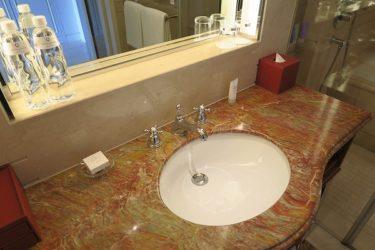 オークラプレステージ台北 ホテル宿泊記その4 バスルーム(台湾週末弾丸一人旅2016秋 その7)