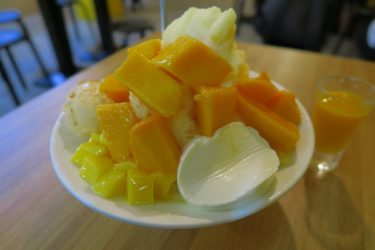 士林のGOManManGoでマンゴーかき氷を食べる(台湾週末弾丸一人旅2016秋 その9)