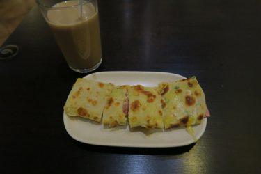 味鼎蛋餅にて台湾式クレープの朝食(台湾週末弾丸一人旅2016秋 その10)
