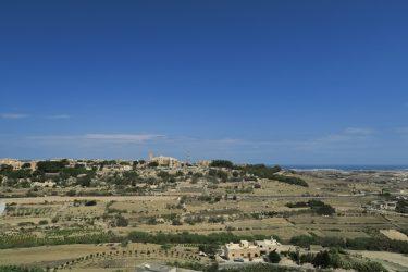 イムディーナの堡塁広場から見たマルタの風景(マルタ旅行2016 その16)