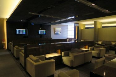 台北松山空港ラウンジ 航空公司貴賓室 Airline VIP Loungeに入室(台湾週末弾丸一人旅2016秋 その12)