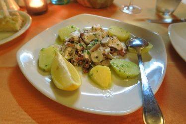 セントジュリアンのイタリアンレストラン「Profumo di ristorante italiano」で夕食(マルタ旅行2016 その29)