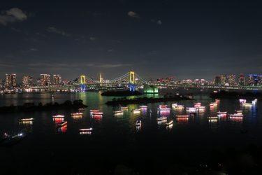 ヒルトン東京お台場は「お台場レインボー花火2016」の最高の観覧場所