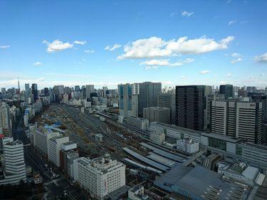 品川プリンスホテル 寿司「日本橋」でトレインビューのランチ