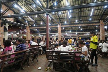 Pupen Seafood Restaurant 「プーペン シーフードレストラン」(タイ パタヤで年越し2016-2017 その8)