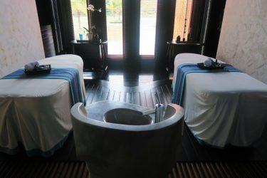 「ハーン ヘリテイジ スパ 」と「サウナ」がお部屋に インターコンチネンタル・ダナン スパラグーンヴィラ(GW香港&ベトナムダナン2017その11)