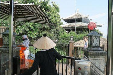 インターコンチネンタル ダナン 敷地内のケーブルカーやビーチを散策(GW香港&ベトナムダナン2017その13)