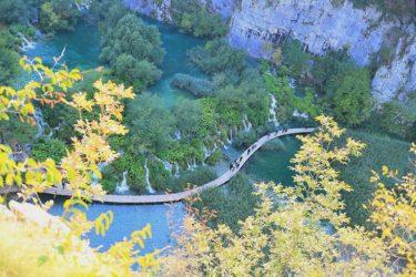 プリトヴィツェ湖群国立公園をハイキング(クロアチア旅行2017・世界遺産)