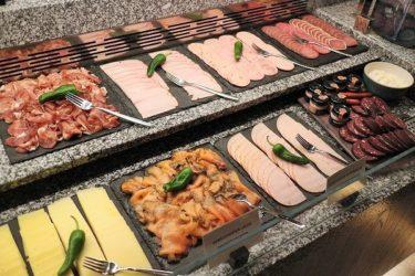 ヒルトンフランクフルト パシフィックカラーズの朝食(年末年始ドーハ&フランクフルト2017-2018)