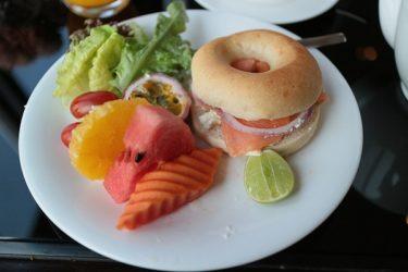 クラブラウンジの朝食 オークラプレステージバンコク(週末3連休バンコク 2018年2月)