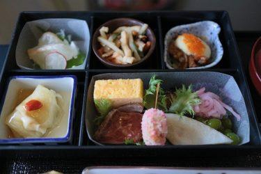 JALビジネスクラス 成田>台北 和食機内食 (台北週末1泊旅行2018)