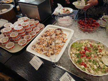 カフェレストラン マリーヌの朝食 ANAクラウンプラザホテル稚内(稚内・礼文島旅行2018年6月)