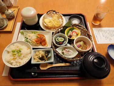 ホテルオークラ札幌「杉ノ目」の涼み御膳ランチ