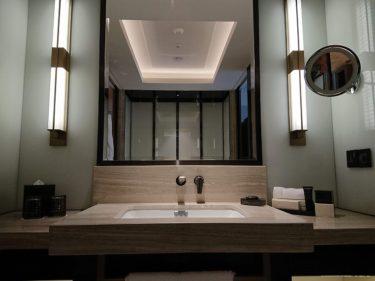 フォーシーズンズホテルクアラルンプール宿泊記3 バスルーム(週末クアラルンプール旅行2018夏)