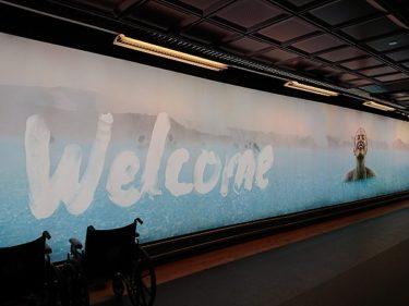 ケプラヴィーク国際空港の到着免税店で市価より安くビールやワイン等のお酒を購入(アイスランド旅行2018 その10)