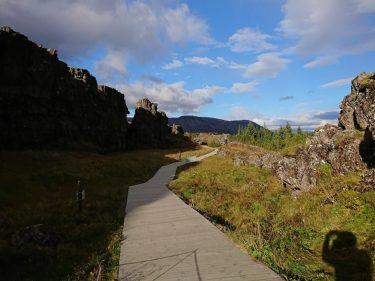 地球の割れ目ギャウのある世界遺産シンクヴェトリル [ゴールデンサークル](アイスランド旅行2018 その12)