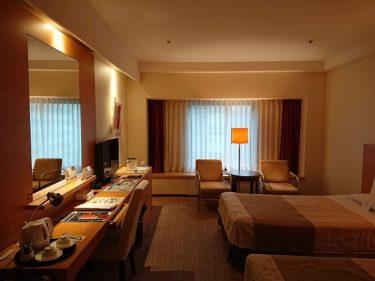 ホテルオークラ札幌 スペーシャスツイン宿泊記