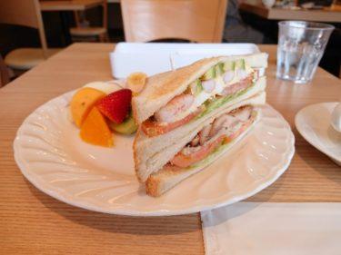 「フルーツパーラーおだわら」でフルーツつきサンドイッチランチ(八戸)
