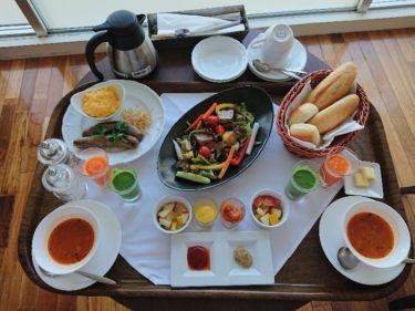 ホテルセトレ神戸・舞子 全室ルームサービスの朝食 そして明石海峡散歩