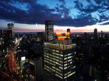 クラブラウンジのカクテルタイムのつづき ANAインターコンチネンタル東京(2018年8月)