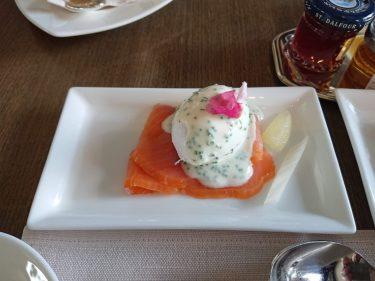 ピエール・ガニェールの朝食 ANAインターコンチネンタル東京 クラブインターコンチネンタルラウンジ