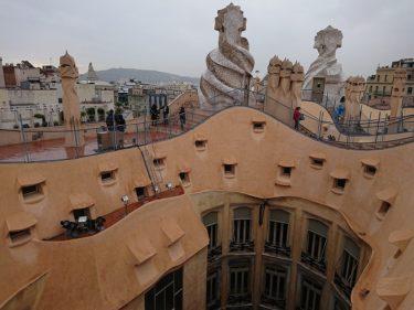 ガウディ建築「カサ・ミラ」を見学(バルセロナ旅行2018 その14)