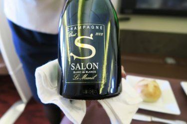 JALファーストクラス シャンパーニュ・サロン SALONが復活(2007年ヴィンテージ)