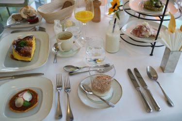 ミシュラン ビブグルマン「Meierei im Stadtpark」の朝食(ウィーン・クロアチア旅行2017)