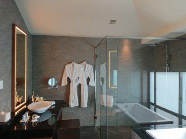 ひらまつホテルズ&リゾーツ 宜野座 宿泊記 その3 バスルーム