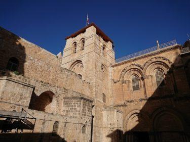 聖墳墓教会・エルサレム旧市街(イスラエル・パレスチナ旅行2019 その15)