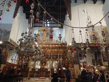 パレスチナ自治区・生誕教会(イスラエル・パレスチナ旅行2019 その17)