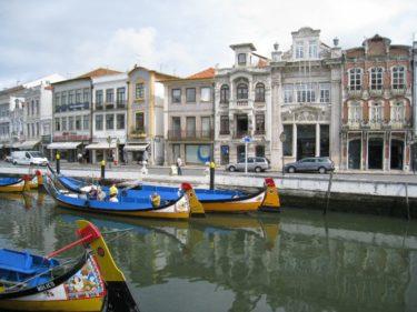 運河の町「アヴェイロ」(ポルトガル2008 その11)[Portugal Aveiro]