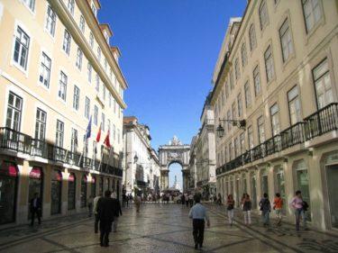 リスボン「リスボン中心部 バイシャエリア 」(ポルトガル2008 その17)[Portugal Lisboa]