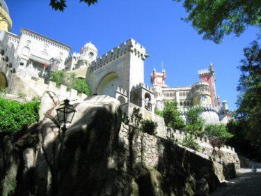 シントラ「ペーナ宮殿 ムーアの城跡 王宮」(ポルトガル2008 その21 世界遺産)[Portugal Sintra]