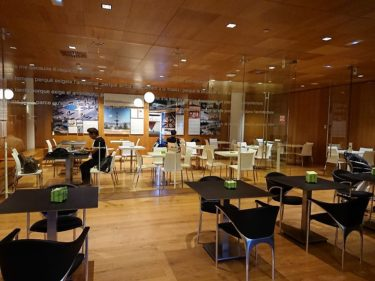 バルセロナ エル・プラット国際空港T1 Sala VIP Miroラウンジ(バルセロナ旅行2018 その23)