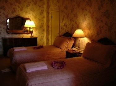 Wホテル ホノルル ダイアモンドヘッド(現 アクアロータスホノルル)ペントハウススイート宿泊記その2 ベッドルーム・バスルーム [ハワイ 2003年]