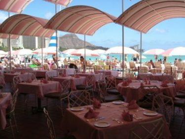 ロイヤル ハワイアン ホテル(The Royal Hawaiian)スイート宿泊記その4 朝食(サーフラナイ)&マイタイバー