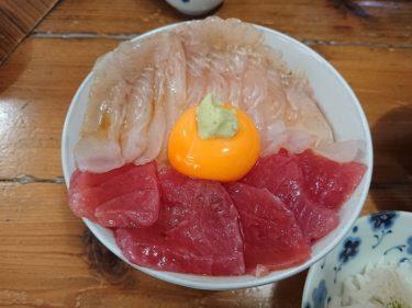 八戸 陸奥湊「みなと食堂」で海鮮丼の朝食(三陸縦貫旅行2019)