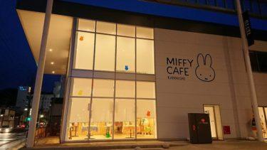 釜石の夜 ミッフィーカフェ、新華園の釜石ラーメン そして桜の花(三陸縦貫旅行2019春)