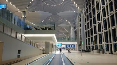 イスタンブール新空港(ジョージア・アゼルバイジャン旅行2019 その6)