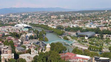 トビリシ ナリカラ要塞とロープウェイ(ジョージア・アゼルバイジャン旅行2019 その22)