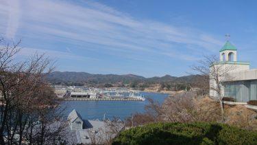 気仙沼の桜 そして防波堤一体型商業・公共施設(三陸縦貫旅行2019春)